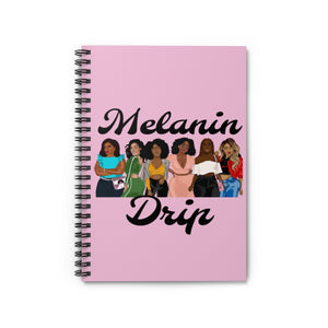Melanin Drip Notebook (Cotton Candy)