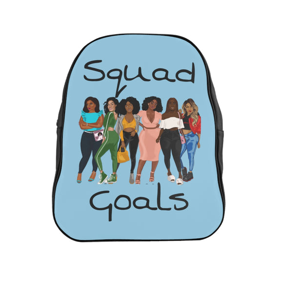 Squad Goals Backpack (Baby Blue)