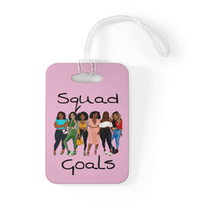 Squad Goals Bag Tag (Cotton Candy)