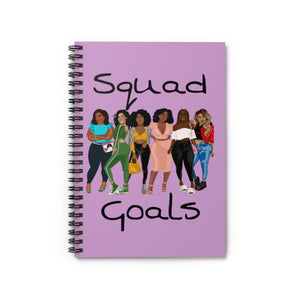 Squad Goals Notebook (Lavender)