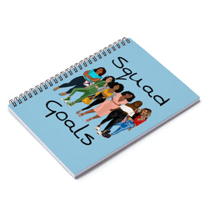 Squad Goals Notebook (Baby Blue)