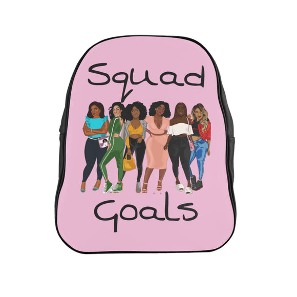 Squad Goals Backpack (Cotton Candy)