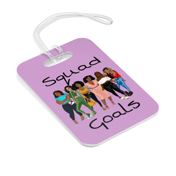 Squad Goals Bag Tag (Lavender)