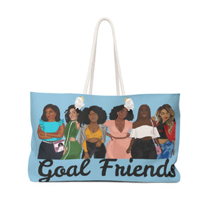 Goal Friends Weekender Bag (Baby Blue)