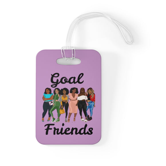 Goal Friends Bag Tag (Lavender)