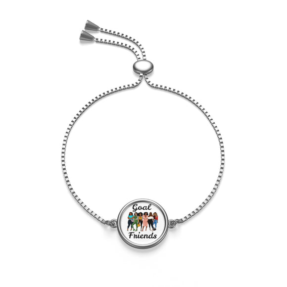 Goal Friends Box Chain Bracelet