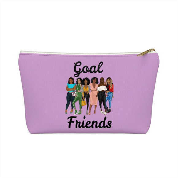 Goal Friends Accessory Pouch w T-bottom (Lavender)
