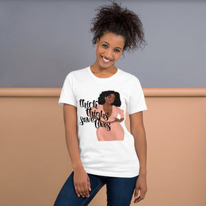 Thick Thighs Save Lives T-Shirt (Sassy)