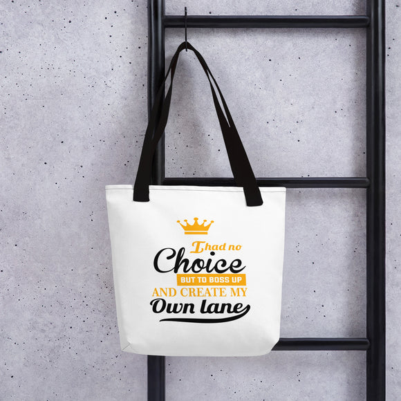 Create My Own Lane Tote bag