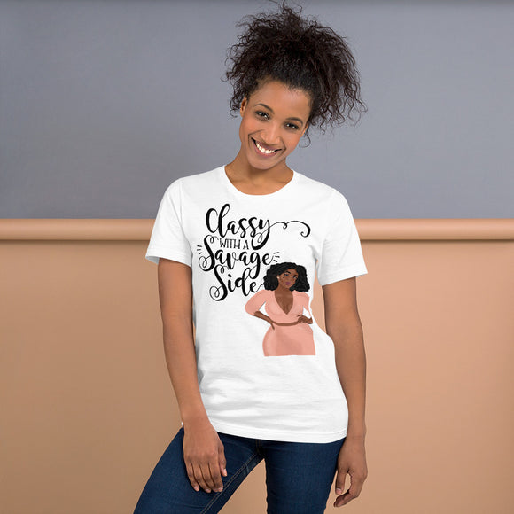 Classy With A Savage Side T-Shirt (Sassy)