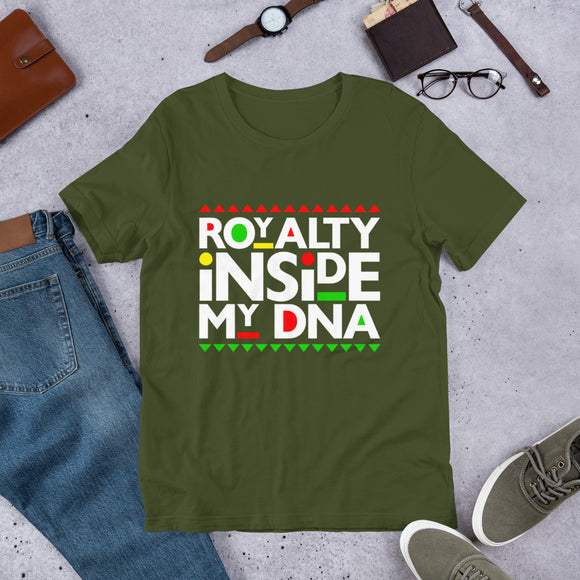 Royalty Inside My DNA T-Shirt