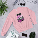 Eat Sleep Grind Repeat Sweatshirt (Pink)
