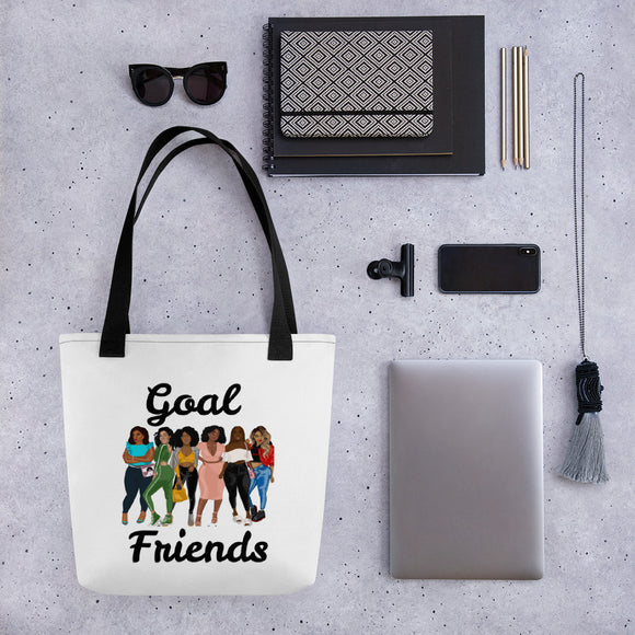 Goal Friends Tote bag