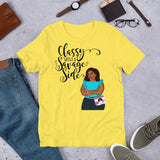 Classy With A Savage Side T-Shirt (Foxy)