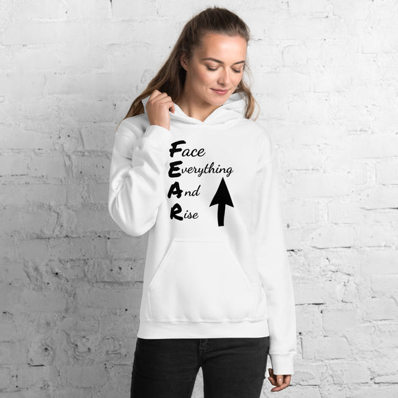 Above Fear Hooded Sweatshirt (Black)
