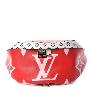 Louis Vuitton Giant Monogram Bumbag Red/pink handbag