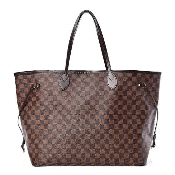 Louis Vuitton Damier Ebene Neverfull GM handbag