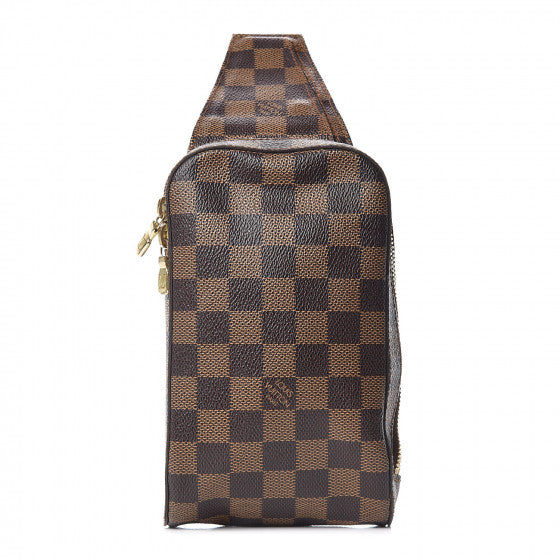 Louis Vuitton Damier Ebene Geronimos sling bag