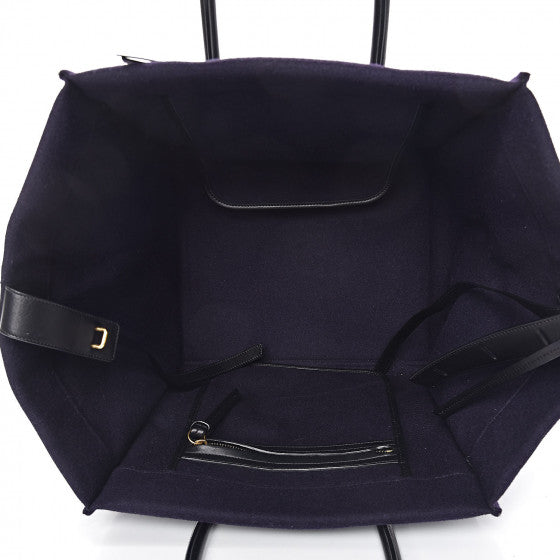 Celine Felt Medium Phantom Luggage Navy handbag