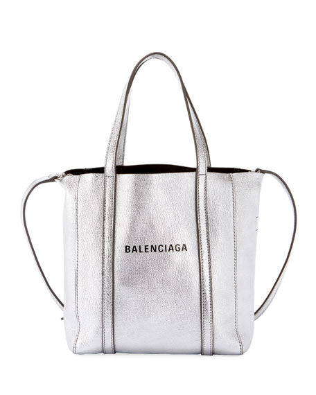 Balenciaga Every Day XXS AJ metallic leather tote bag