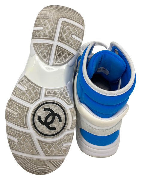 Chanel High Top Sneakers size 36