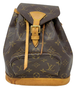 Louis Vuitton Monogram Montsouris Mini Vintage Backpack