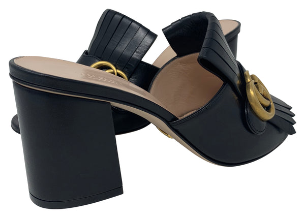 Gucci Loafer style heels size 38