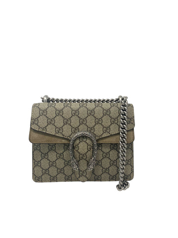 Gucci Mini Dionysus Shoulder/Crossbody Bag Beige