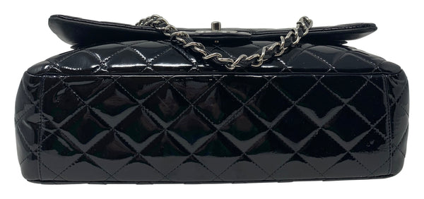 Chanel Patent Maxi Double Flap