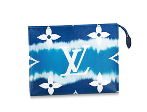 Louis Vuitton  ESCALE POCHE TOILETTE 26 bleu Handbag