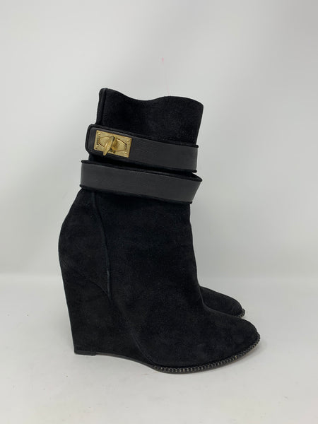 Givenchy Shark Lock Ankle Boots size 37.5