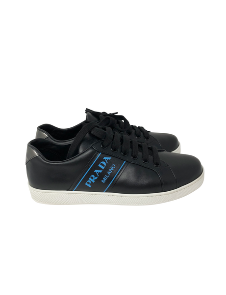Prada Sneakers with Blue Logo size 38