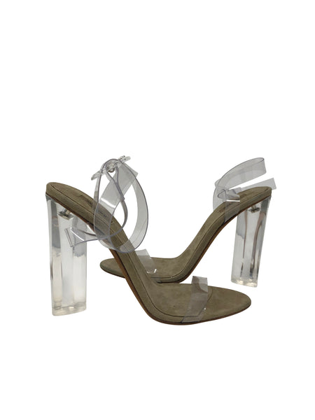 Yeezy Season 6 Clear Heels