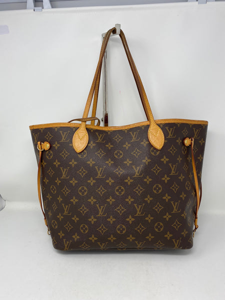 Louis Vuitton Neverfull MM Monogram w/ Pouch