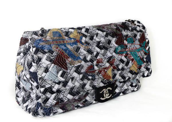 Chanel XXL flap travel collection handbag