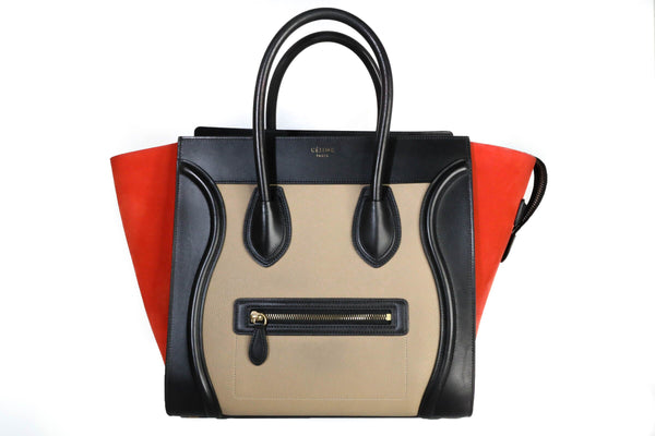 Celine Mini Luggage Tri-Color