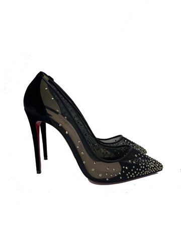 Christian Louboutin Follies Strass 100 size 40