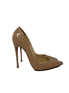 Christian Louboutin So Kate 120 Size 41 nude