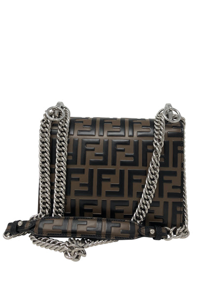 Fendi tobacco brown Kan I shoulder bag