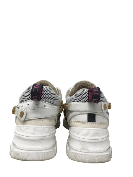 Gucci Flashtrek sneakers with removable crystals size 12.5