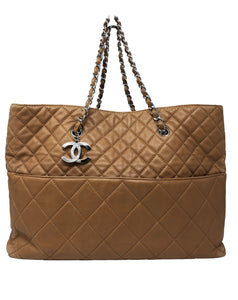 Chanel Tan Tote Bag