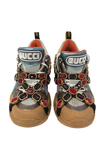 Gucci shoes with removable crystals size 38