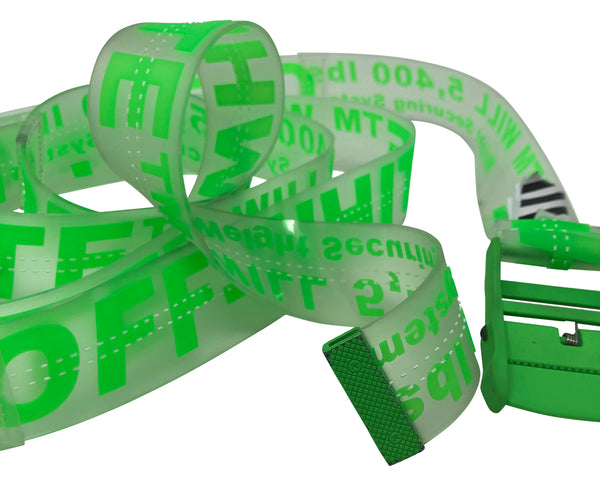 Off-White Industrial Belt Green