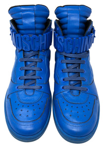 Moschino Sneakers Blue Size 45