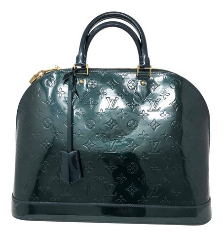 Louis Vuitton Alma GM Bleu Nuit Handbag