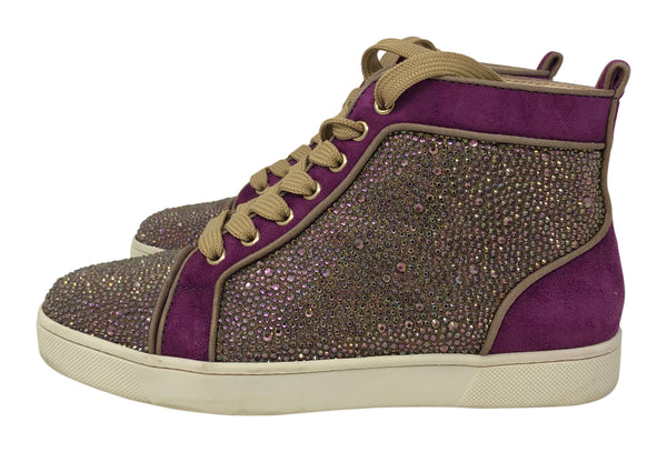 Christian Louboutin Strass Sneakers size 38
