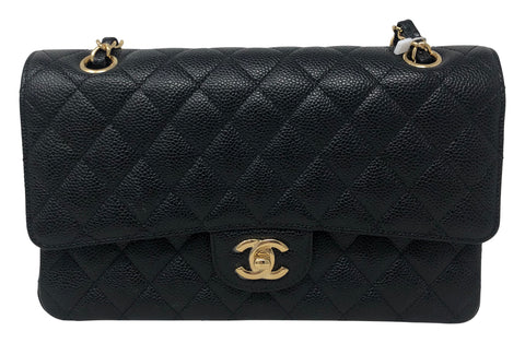 Chanel Classic Medium Double flap handbag black