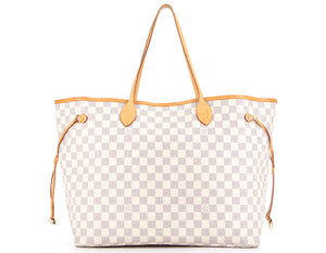 Louis Vuitton Damier Azur Neverfull GM Tote Bag
