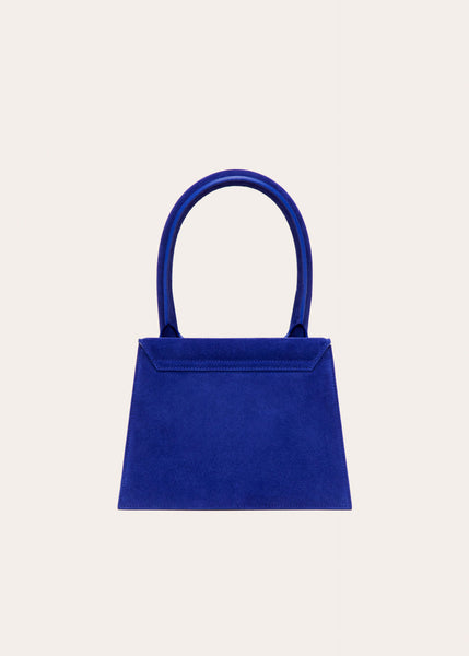 Copy of Jacquemus Le Gand Chiquito Blue Suede