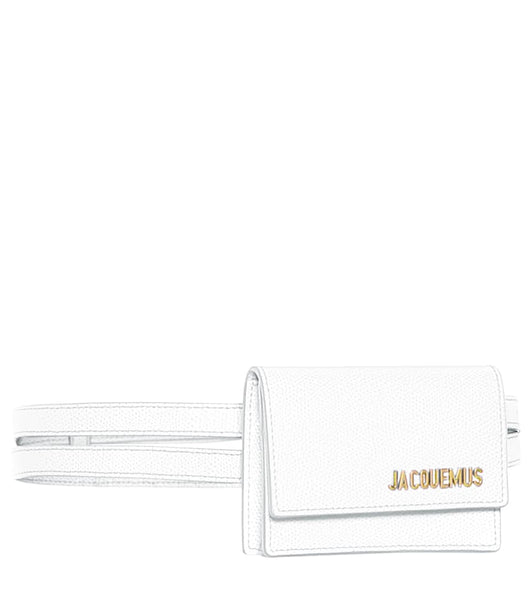 Jacquemus Belt Bag White